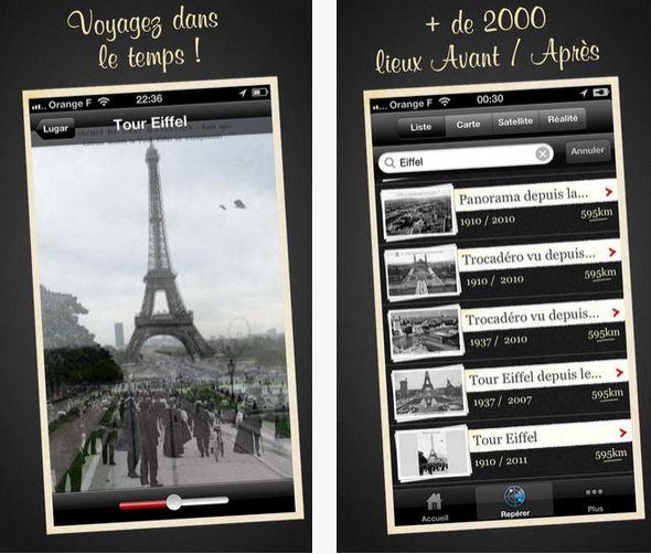 Capture d'écran Paris Avant Android