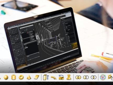 Capture d'écran CorelCAD
