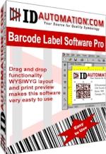 Capture d'écran IDAutomation Barcode Label Pro Software