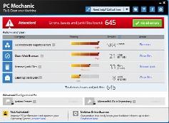 Capture d'écran PC Mechanic