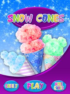 Capture d'écran Celebrity Snow Cone Maker FREE