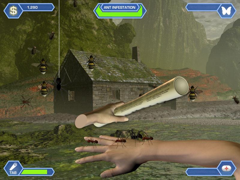 Capture d'écran Pandora's Pests