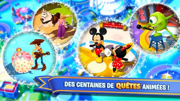 Capture d'écran Disney Magic Kingdoms iOS