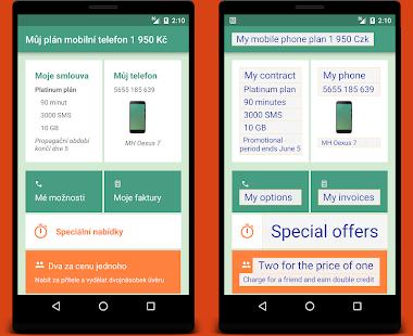 Capture d'écran App Translator Android