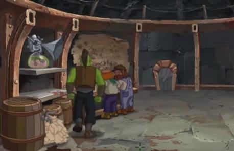 Capture d'écran Warcraft Adventure: Lord of the Clans