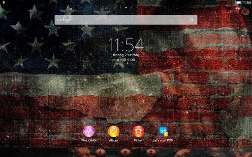 Capture d'écran XPERIA™ Tattered Stripes