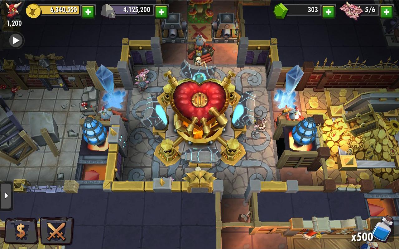 Capture d'écran Dungeon Keeper iOS