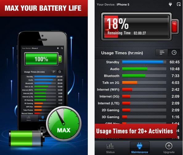 Capture d'écran Batterie Optimisée Gratuit iOS