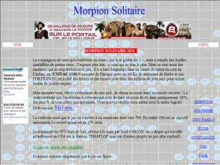 Capture d'écran Morpion solitaire aléatoire