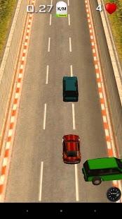 Capture d'écran Highway Car Race 3D – Nitro