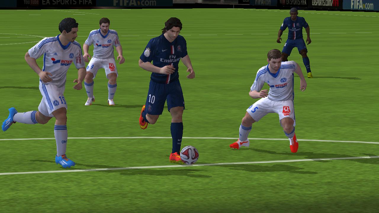 Capture d'écran FIFA 15 Ultimate Team Windows Phone