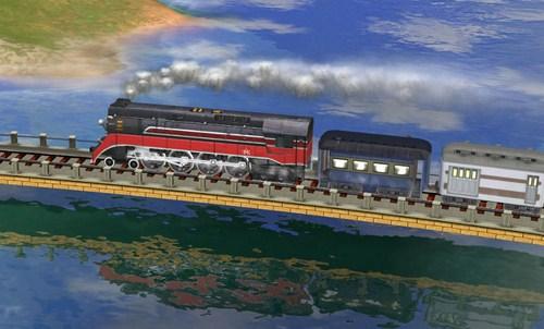 Capture d'écran Sid Meier's Railroads! – Mac