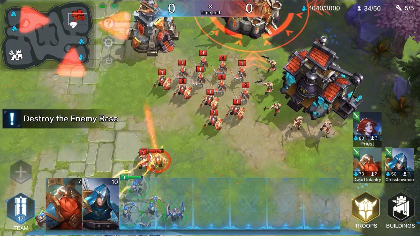 Capture d'écran NetEase Fury and Valor Android