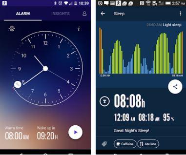 Capture d'écran Sleep Time Smart Alarm Clock
