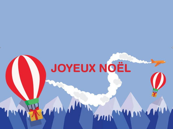 Capture d'écran Carte de Noël format word