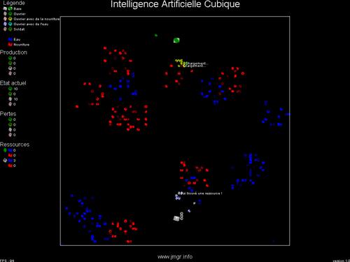 Capture d'écran Intelligence Artificielle Cubique