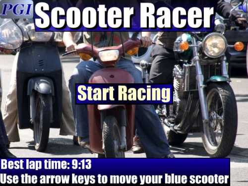 Capture d'écran Scooter Racer