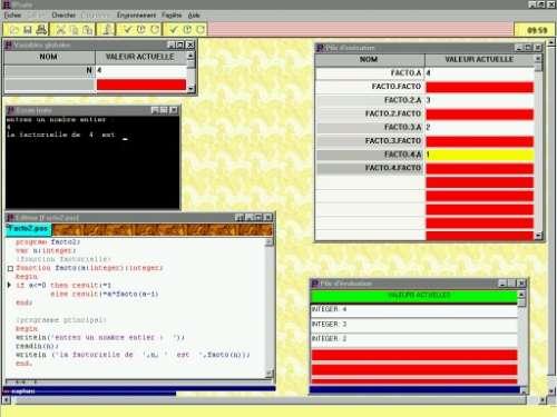 Capture d'écran IPcute