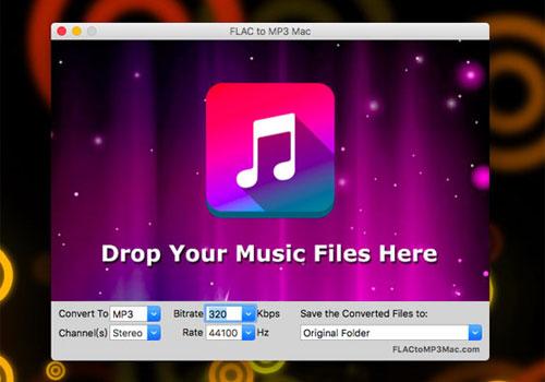 Capture d'écran FLAC To MP3 Mac