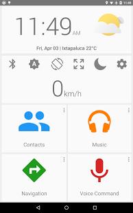 Capture d'écran Car dashdroid- Car dashboard