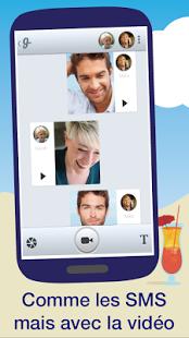 Capture d'écran Glide – messages vidéo