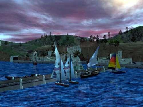 Capture d'écran Seascape 3D Screensaver
