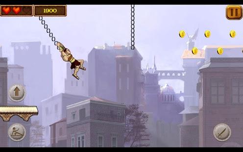 Capture d'écran Gladiator Escape
