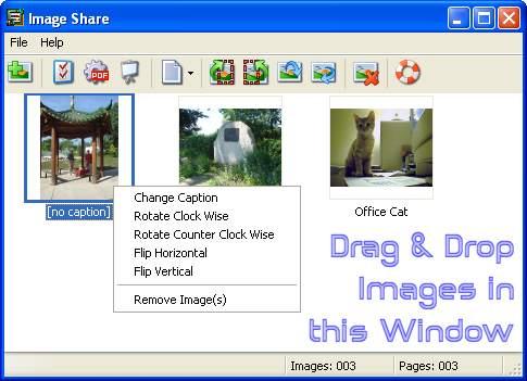 Capture d'écran Easy Image Share