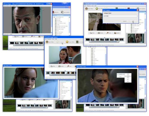 Capture d'écran IM DVD IMAGE CAPTURE