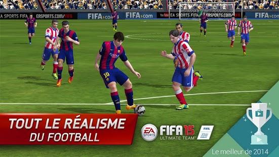 Capture d'écran FIFA 15 Ultimate Team