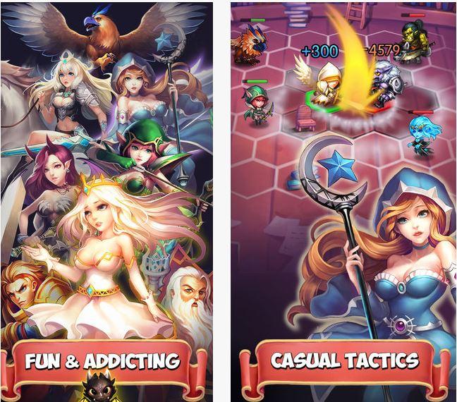 Capture d'écran Heroes Tactics : Mythiventures iOS