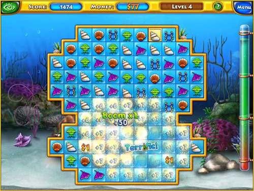 Capture d'écran Fishdom