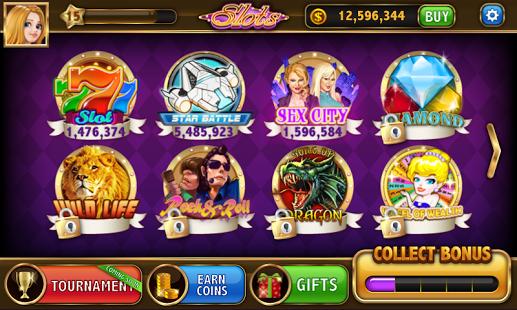 Capture d'écran Machine à sous – Blazing Slots