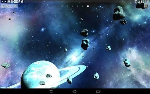 Capture d'écran Les Astéroïdes 3D