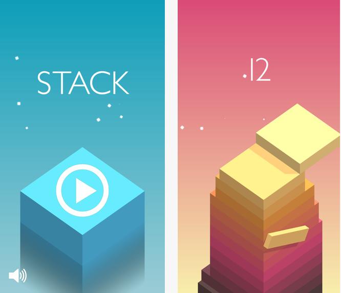 Capture d'écran Stack iOS