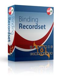 Capture d'écran DC Binding Recordset