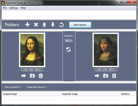 Capture d'écran Awesome Duplicate Photo Finder