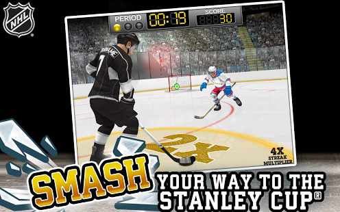 Capture d'écran LNH Hockey Smash Cible