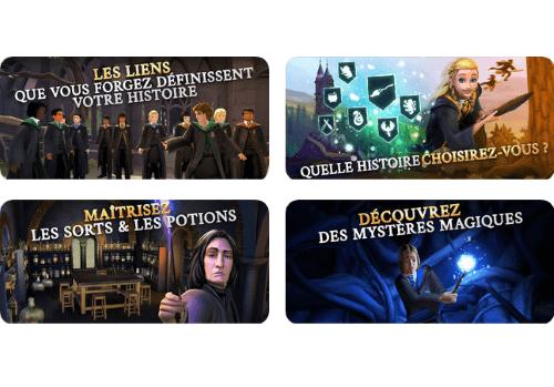 Capture d'écran Harry Potter Hogwarts Mystery iOS