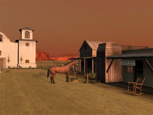 Capture d'écran Wild West 3D Screensaver