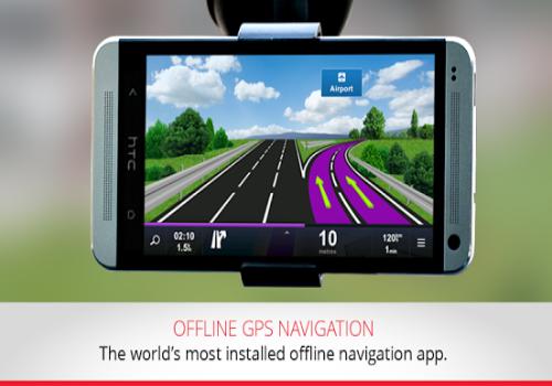 Capture d'écran Sygic GPS iOS