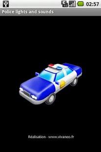 Capture d'écran Sirenes de police et voix