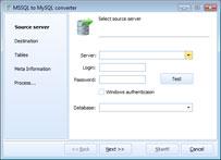 Capture d'écran DB Elephant MSSQL to Postgre Converter(1)