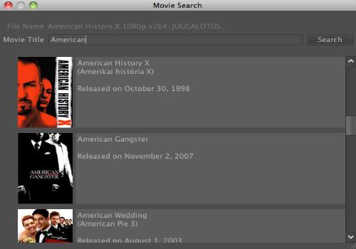 Capture d'écran MoviePly