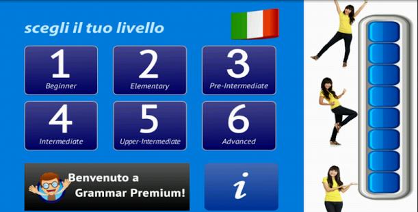 Capture d'écran Grammaire italienne Free
