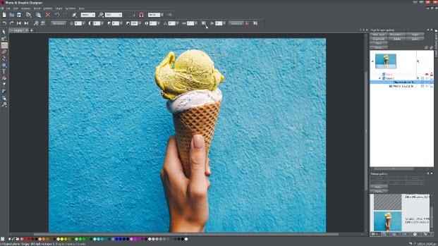 Capture d'écran MAGIX Photo and Graphic Designer