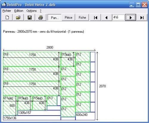 Capture d'écran DebitPro