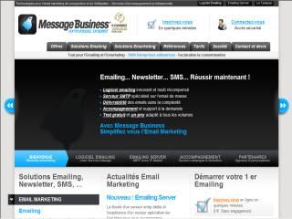 Capture d'écran Message Business Emailing