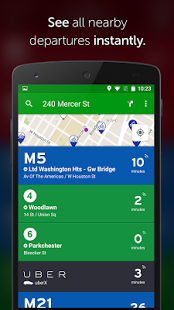 Capture d'écran Transit App: Real Time Tracker