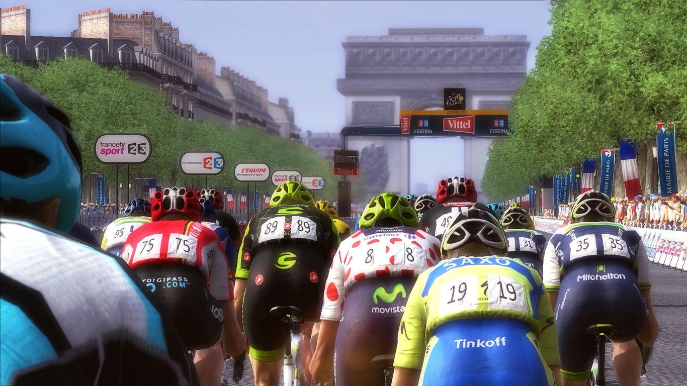 Capture d'écran Pro Cycling Manager 2015